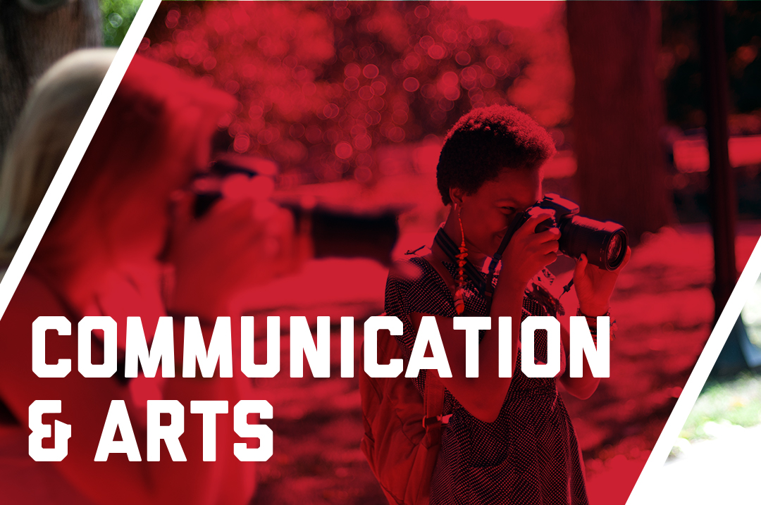 Graphic for communications & arts Pre-College programs