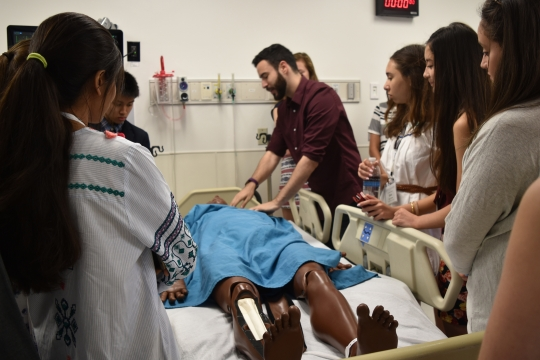 Introduction to Medicine Students at National Institute of Health