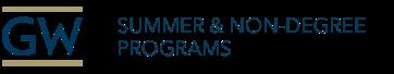 Summer and Non-Degree Programs Logo