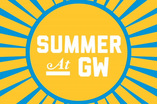 Summer at GW graphic