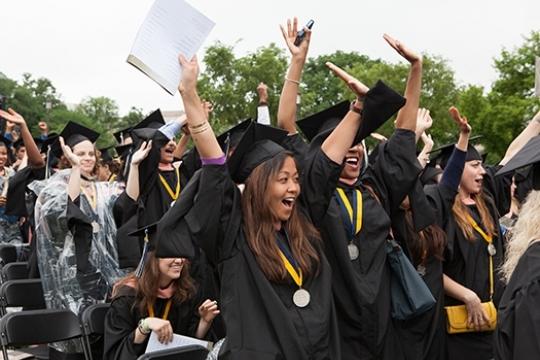 Graduating GW Students