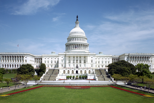 Photo of the United States Capitol building