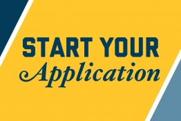 Start your application graphic