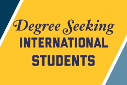 Degree Seeking International Students Logo