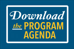 Graphic for downloading the program agenda
