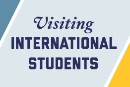Visiting International Students Logo