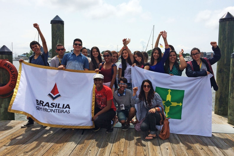 Brasilia Without Border students in Annapolis