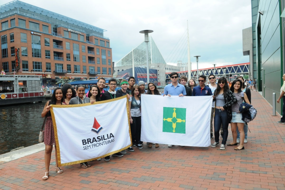 Brasilia Without Border students in Baltimore