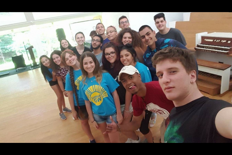 Selfie of the 2016 Cyprus cohort