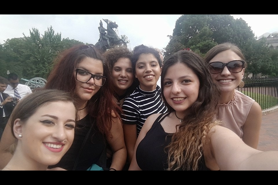 Selfie of Cyprus students