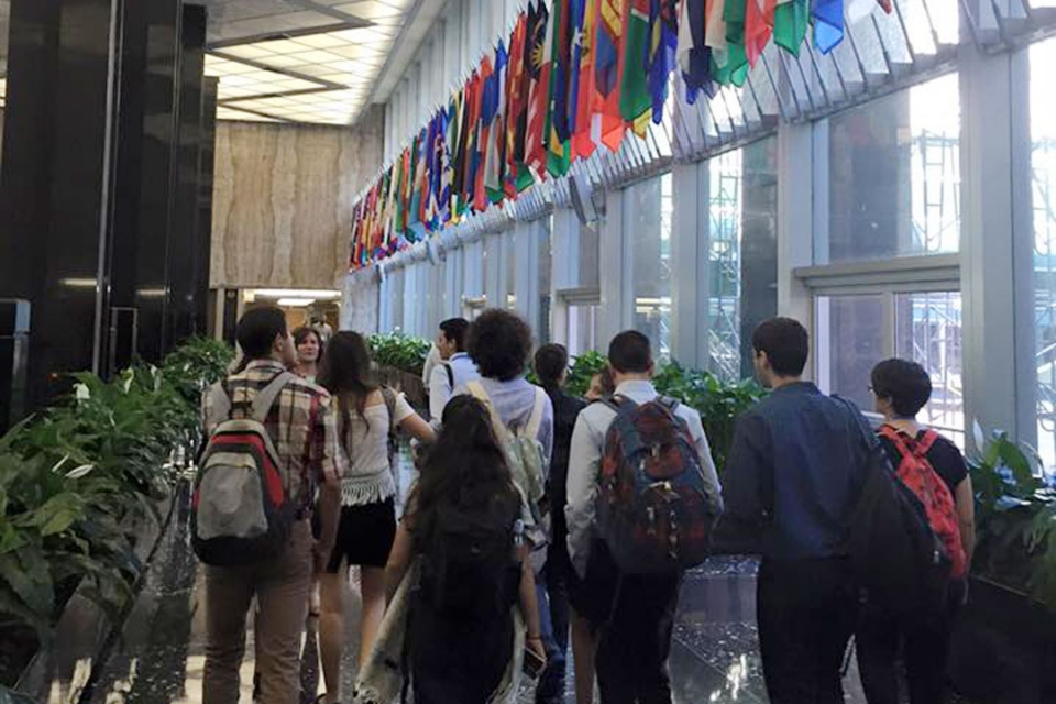 Cyprus students at the US Department of State