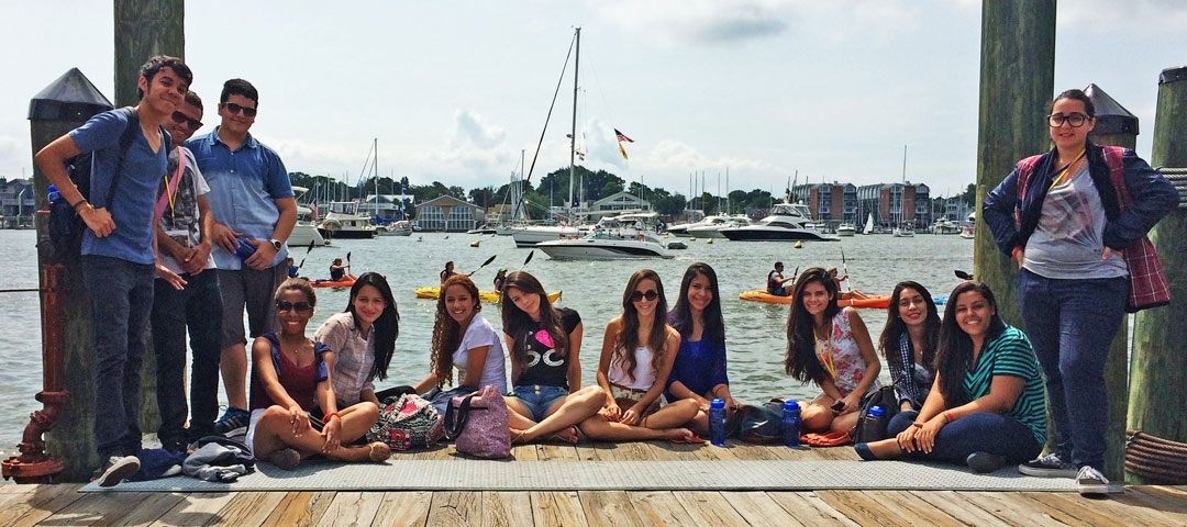 International Pre-College Students in Annapolis