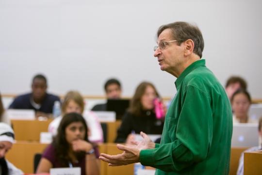 An American university classroom