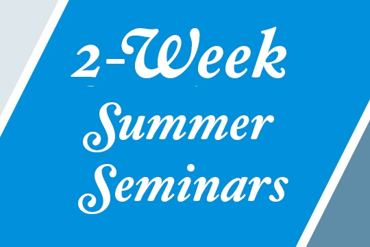 2-week Summer Seminars logo