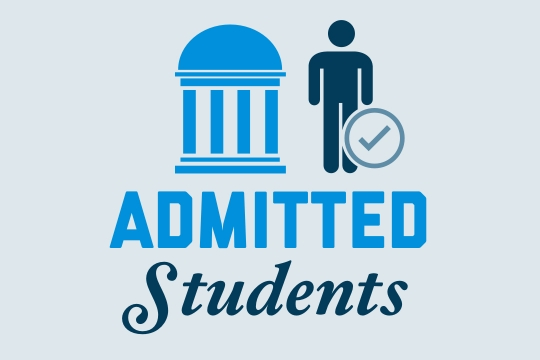 Admitted Students graphic