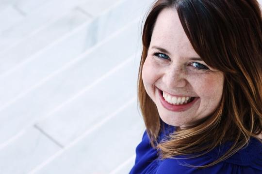 Headshot of Anna Borgholthaus