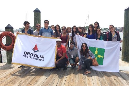 Brasilia without Borders students in Annapolis