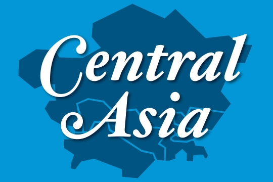 Web graphic - Central Asia