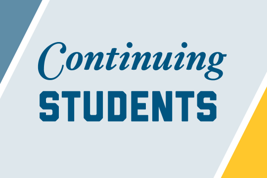 Continuing Students Graphic