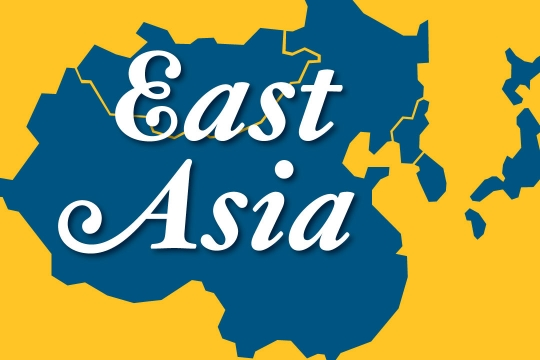 Web graphic - East Asia