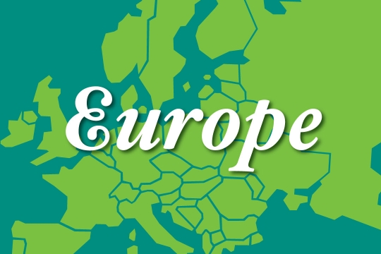 Web graphic - Europe