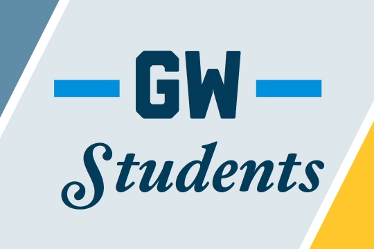 GW Students graphic
