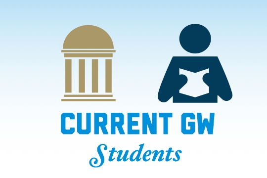 Current GW Students graphic