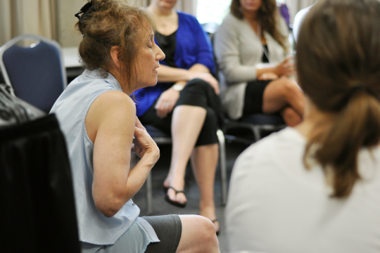 Students in the Grief Summer Institute