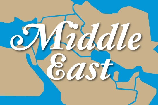 Web graphic - Middle East