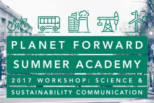 Planet Forward Summer Academy Graphic