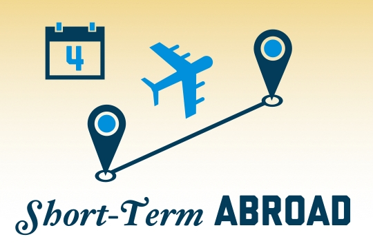 Short-Term Abroad Graphic