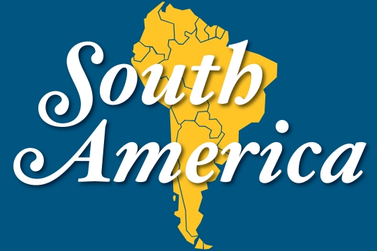 Web graphic - South America