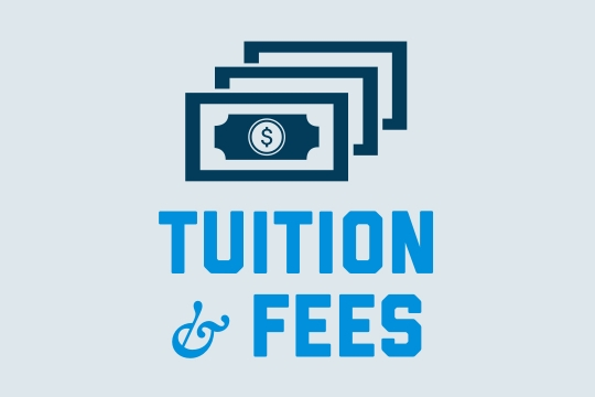 Tuition & fees graphic