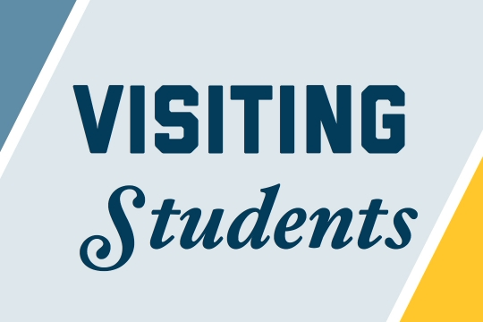 Visiting Students graphic